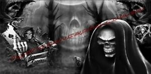 Grim Reaper OZ Hydrographics Water Transfer Printing film