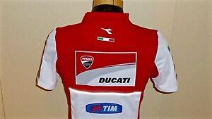 2015 Ducati Motogp Team Issues Only Polo Shirt Andrea Dovizioso / Andrea Iannone