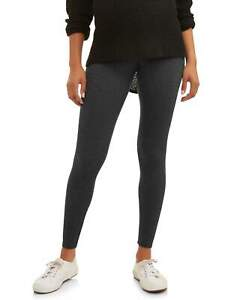 Maternity Oh! Mamma Legging with Full Panel Charcoal Size L ---------------W3---