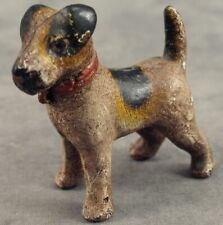 Fox Terrier Heavy Cast Iron Miniature Statue Paperweight