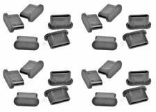 20x Staubschutzstecker Stöpsel Kappe USB-Typ-C Silikon für Google Pixel 4 4A 5