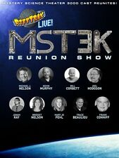 RIFFTRAX LIVE MST3K REUNION SHOW New Sealed DVD Mystery Science Theater 3000