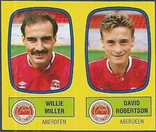 PANINI FOOTBALL 88-#470-A-B-ABERDEEN-WILLIE MILLER / DAVID ROBERTSON