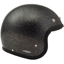 DMD Vintage Helmet - Glitter Black - XL