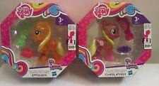 My Little Pony Equestria Esplora ACQUA CUTIES Applejack & Fiore Wishes NUOVA