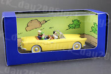 TINTIN LA VOITURE BORDURE L'AFFAIRE TOURNESOL 1/43 Diecast Model
