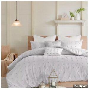 Urban Habitat Brooklyn Cotton 7-Pc. Full/Queen Comforter Set Gray NEW NWT 290.00