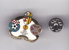 Birkirkara v Siroki Brijeg and Hearts (EL 2016) - badge No.2 butterfly fitting