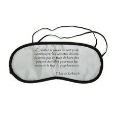 Masque de nuit repos voyage Elias Potion de virilité citation Kaamelott