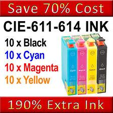 40 Ink Cartridges Replace For Epson Stylus DX3850 DX4200 DX4250 DX4800 DX4850