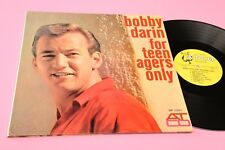 BOBBY DARIN LP FOR TENAGERS ONLY 1°ST ORIG USA 1970 NM GATEFOLD + POSTER !!!!
