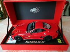 1/18 BBR 1817 Ferrari 599XX Nurburgring 2010 Ltd #148 of 299 pcs./CMC EXOTO GMP
