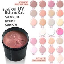 Venalisa 1Kg French UV Camouflage Soak Off Semi Transparent Builder Poly Gel 1l