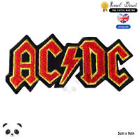 Ac Dc Music Band Embroidered Iron On Sew On Patch Badge For Clothes etc