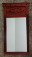 """Beautiful Ethan Allen Wall Mirror - French Empire Style Cherry Finish 38"""" X 20"""""""
