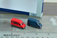 Rietze 16069 2 Iveco Daily Van 1:160 N Scale