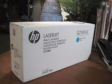 GENUINE HP 503A Cyan Toner Cartridge Q7581A Q7581AC 3800 CP3505 NEW SEALED!!!
