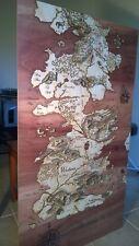 Game of Thrones Laser Engraved Westeros Kit