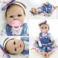Vinyl Silicone Reborn Doll Real Life Like Looking 22inch Newborn Baby Dolls