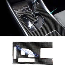Real Carbon Fiber Gear Shift Box Panel Cover Trim For LEXUS IS250/300 2006-2011