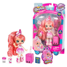 New Shopkins Shoppies World Vacation Pinkie Cola Doll Visits USA Official