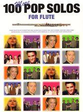 100 More Pop Solos for Flute aktuelle Pop Songs Solos Noten Querflöte u. Gitarre