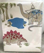 "Laura Ashley Dinosaurs Blackout Curtains 53"" x 54"" (135 x 137cm) NEW"