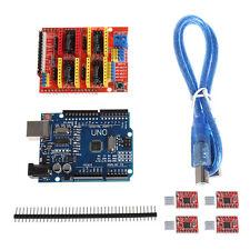 CNC Shield V3 3D Printer+4xA4988 Driver +UNO R3 For Arduino w/USB Cable