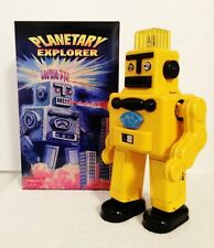 RARE BATTERY OPERATED COMET TOYS LE #66 OF108 PLANETARY EXPLORER TIN ROBOT MINT