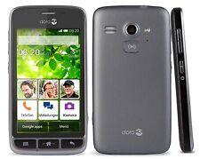 New Doro Liberto 820 Mini Black 3G Android Smartphone Easy To Use Unlocked Phone