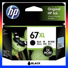 1x HP Genuine 67 XL 67XL Black 3YM57AA Ink Cartridge for Envy 6020 Pro 6420