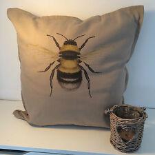 Bumble Bee Cojín grandes 50x50cm Casa Decorativo cotton linen cubierta del amortiguador