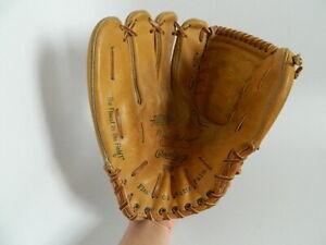 "Vintage Rawlings XFCB17 Brooks Robinson Wingtip Fastback 11"" Baseball Glove USA"