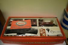 MAMOD STEAM RAILWAY TRAIN O gauge used rs1 rs3 set red locomotive excellent