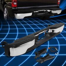 For 99-07 Chevy Silverado GMC Sierra Fleetside Rear Step Bumper Kit Replacement