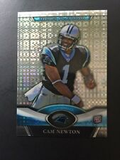 cam newton 2011 topps platinum x-fractor rookie card #1 gem mint panthers mvp