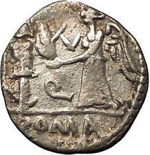 Roman Republic 97BC Quinarius Apollo Victory Trophy Ancient Silver Coin i54363