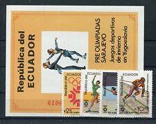 Ecuador 1961/64 Block 110 postfrisch / Olympiade .........................1/1025