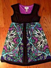STUDIO I For J Crew Purple Aqua Paisley SASSY Maxi Sleeveless Dress WOMENS SZ 10
