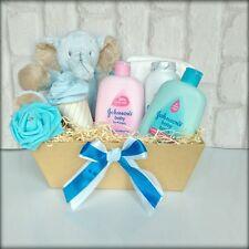 Baby Shower Gift Baby Baby boy hamper gift basket blue baby boy maternity gift