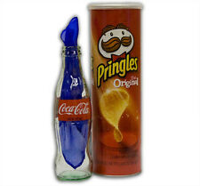 SILK A COLA Potato Chip Can Coke GLASS Bottle Magician Stage Magic Trick Pringle