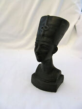 Egyptian Neferititi Stone Statue Beautiful Workmanship 7.5""