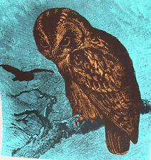1970's Original John Marton Woodblock Print, Artist Proof Signed