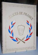Délices De France Encyclopédie GASTRONOMIQUE 6 volumes tomes LIVRE RARE Cuisine