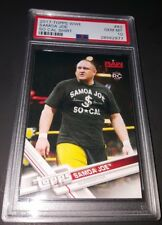 2017 Topps WWE #83- Samoa Joe Rookie Card! PSA GEM MINT 10!
