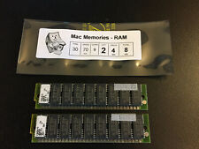 2x 4MB 30-Pin 70ns Parity FPM SIMMs Macintosh COLOR CLASSIC LC Memory Apple RAM
