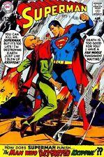SUPERMAN #205 Fine, Neal Adams c. Man Who Destroyed Krypton, DC Comics 1968