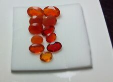 2.05 cts - Faceted Mexican Fire Opal - 11 pieces - Very Beautiful