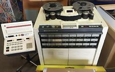 Otari MTR-90, 24 track 2 inch recorder with remote control unit