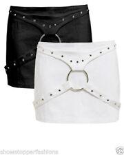 Faldas de mujer Mini color principal negro 100% algodón